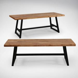Anderson Dining Bench – Customisable